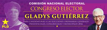 Congreso Elector Gladys Gutiérrrez